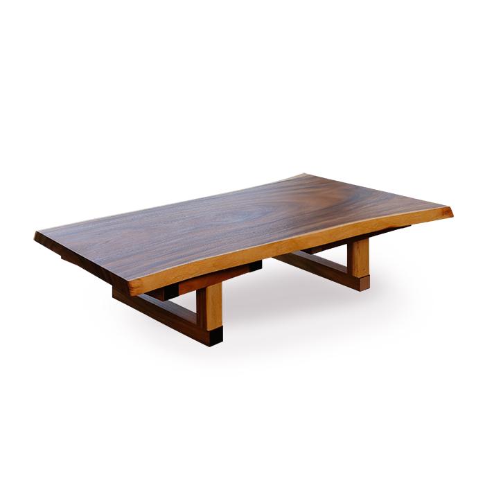 一枚板テーブル/モンキーポッド材