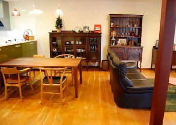 【コーディネート事例】長野市N様「手持ちの家具に合う新しい家具を探しながら、家づくりを考えたい」