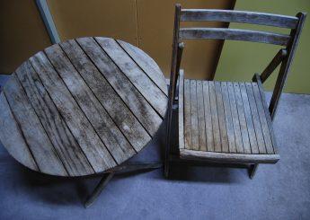 椅子・テーブル再塗装