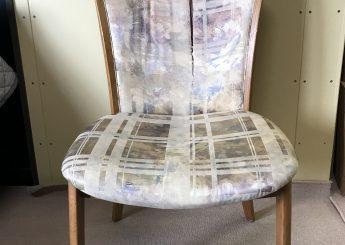椅子の背と座の張替え