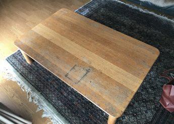 テーブル再塗装(天板のみ)