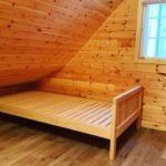 ヒノキのベッド