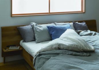 無垢のベッドフレーム