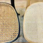 籐椅子の張替