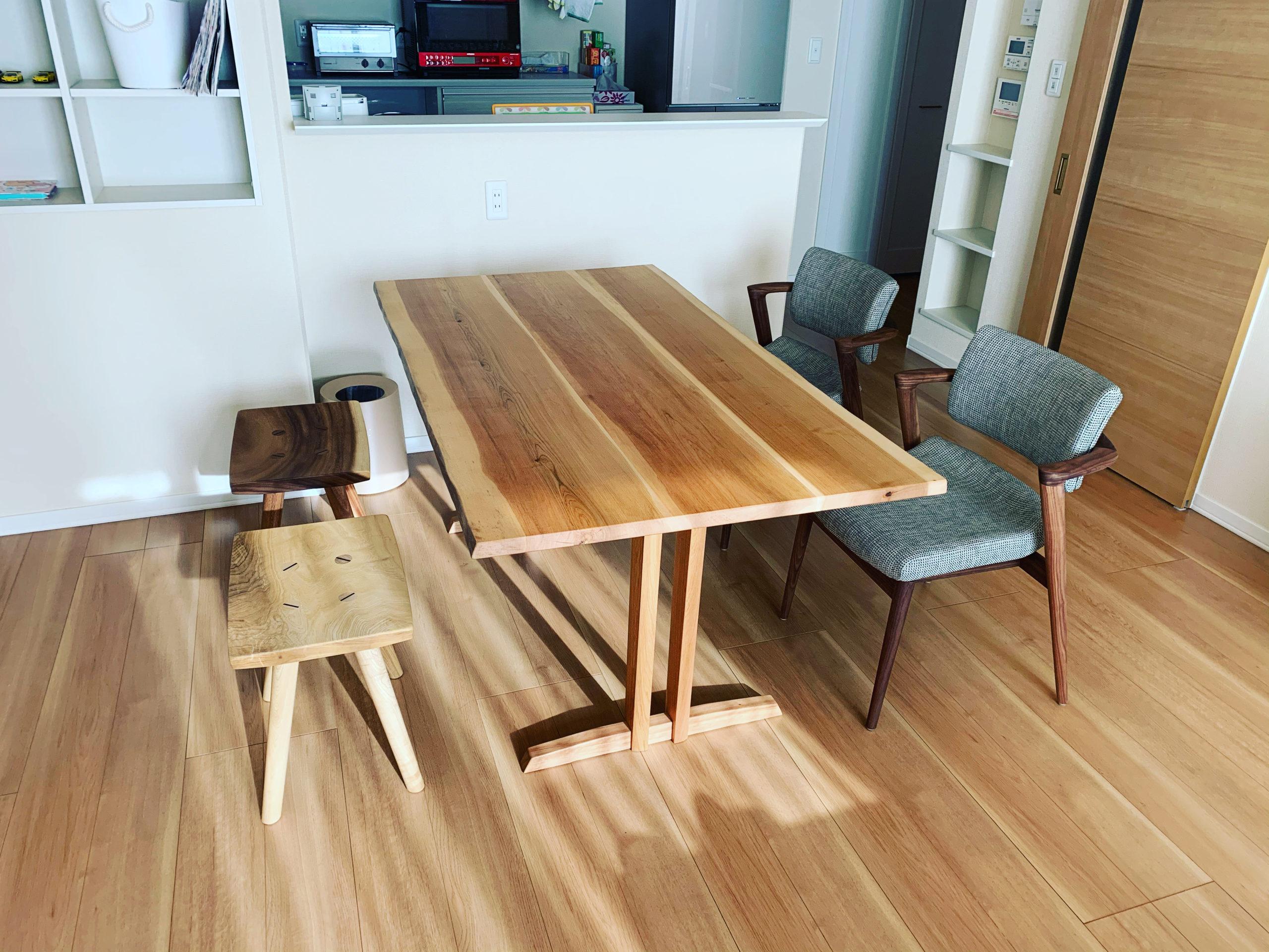 サクラのテーブル