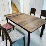 伸長式テーブル
